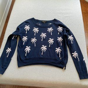 9/10 new juicy couture palm tree top